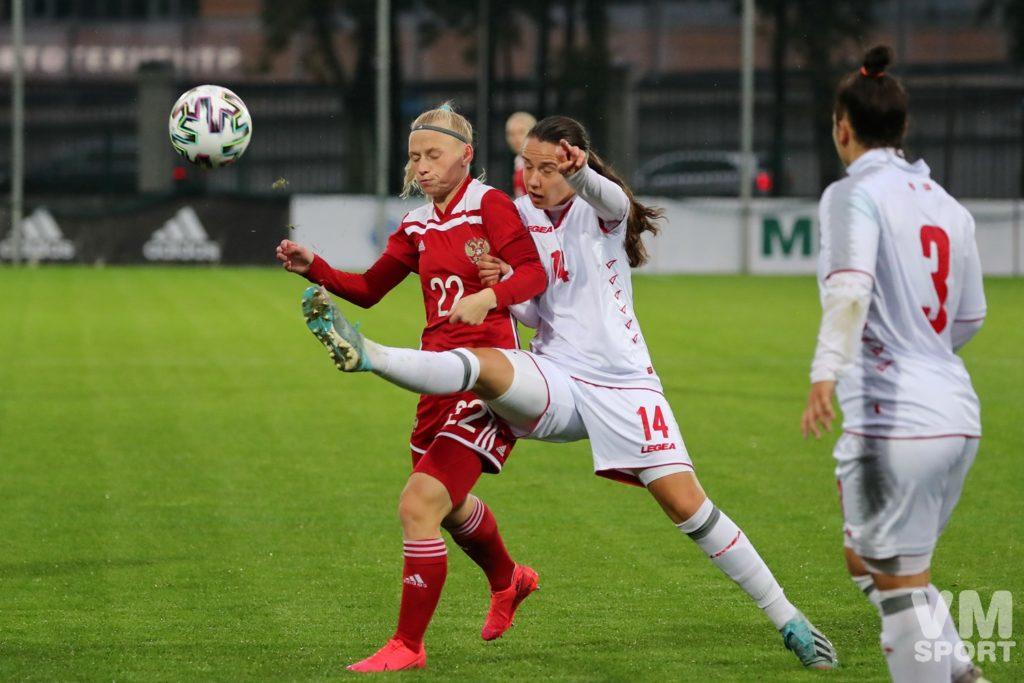 Футбол. Женская сборная России