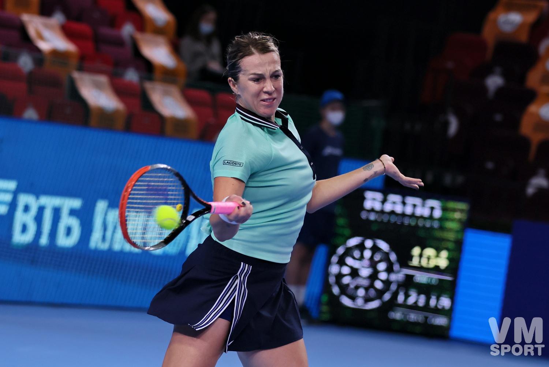 Теннис. Анастасия Павлюченкова
