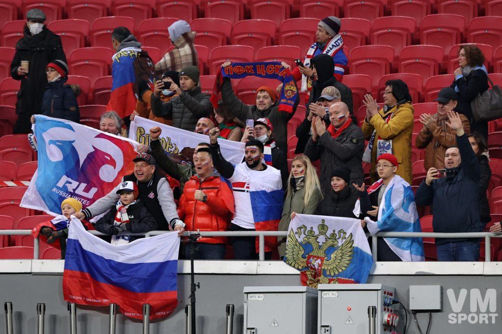 Сборная России по футболу. Болельщики