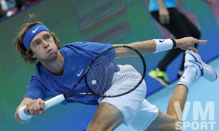 Андрей Рублёв. Теннис