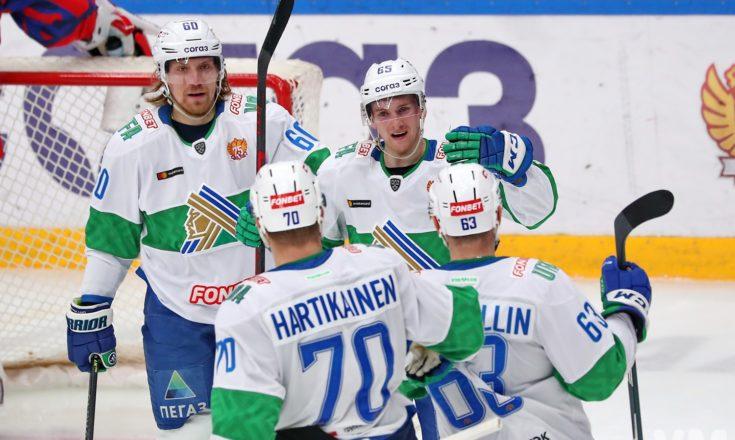 «Салават Юлаев» одолел в Москве ЦСКА