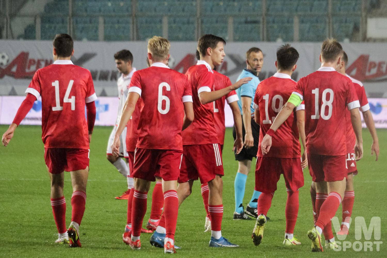 Молодёжная сборная России по футболу-2021